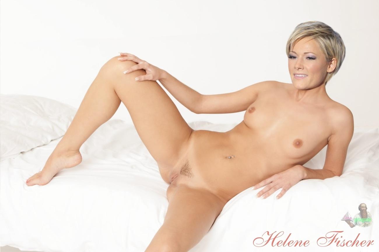 Helene fischer topless